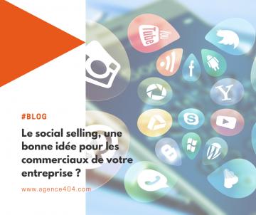 social selling entreprise commerciaux