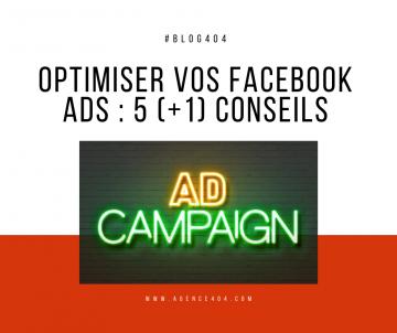 conseils optimisation facebook ads